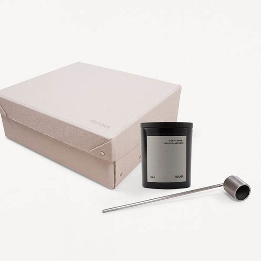 FRAMA Apothecary Gift Box: Deep Forest Scented Candle + Suffer