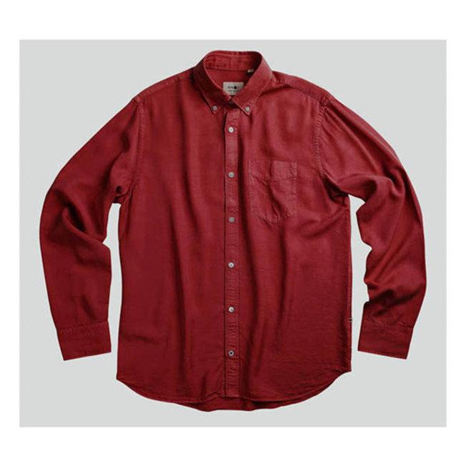 Levon Shirt 5969 Burned Red