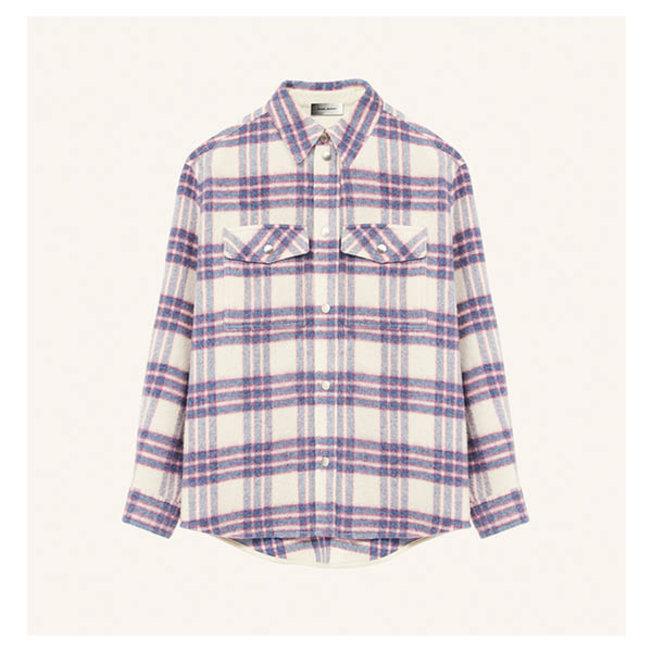 Fesleyli Overshirt Check