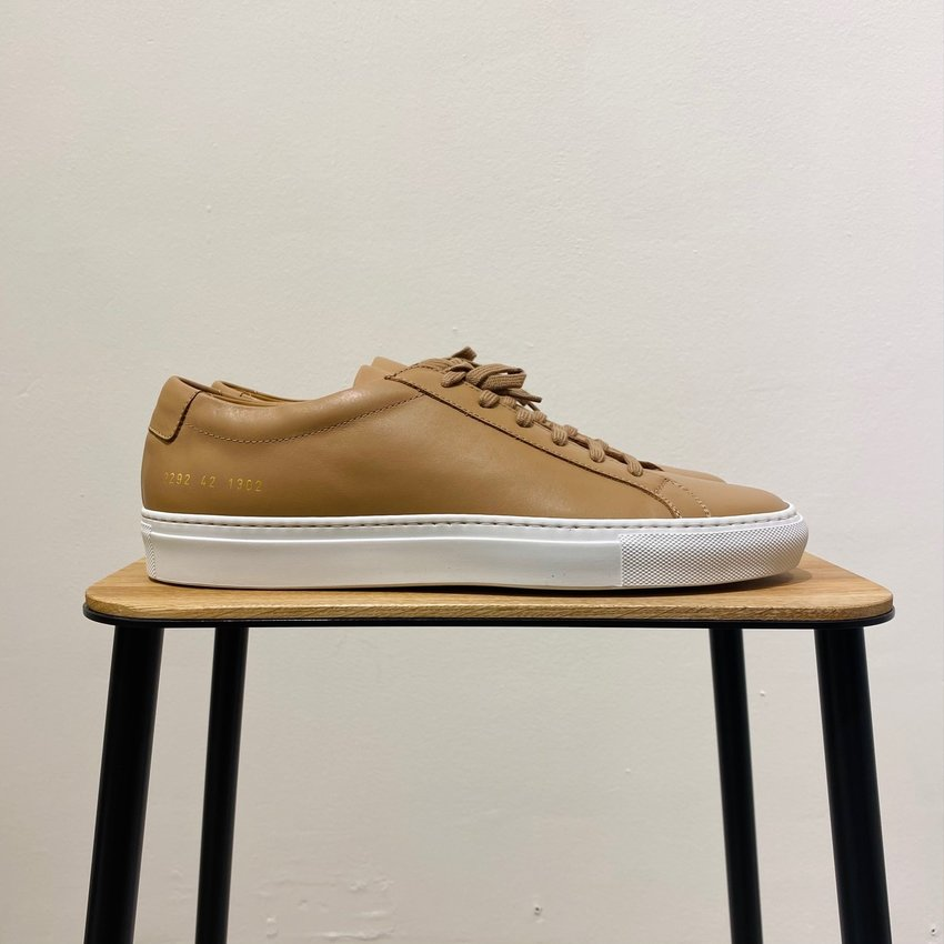 Common Projects Achilles White Sole 2292 Tan