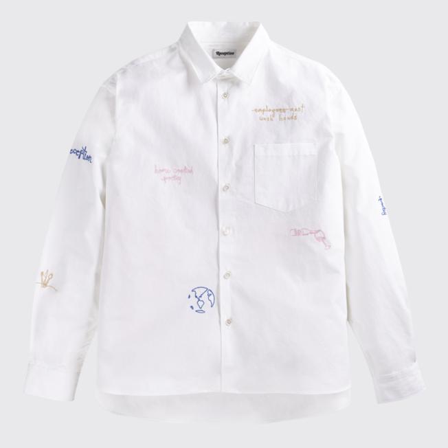Loose Financial Shirt White