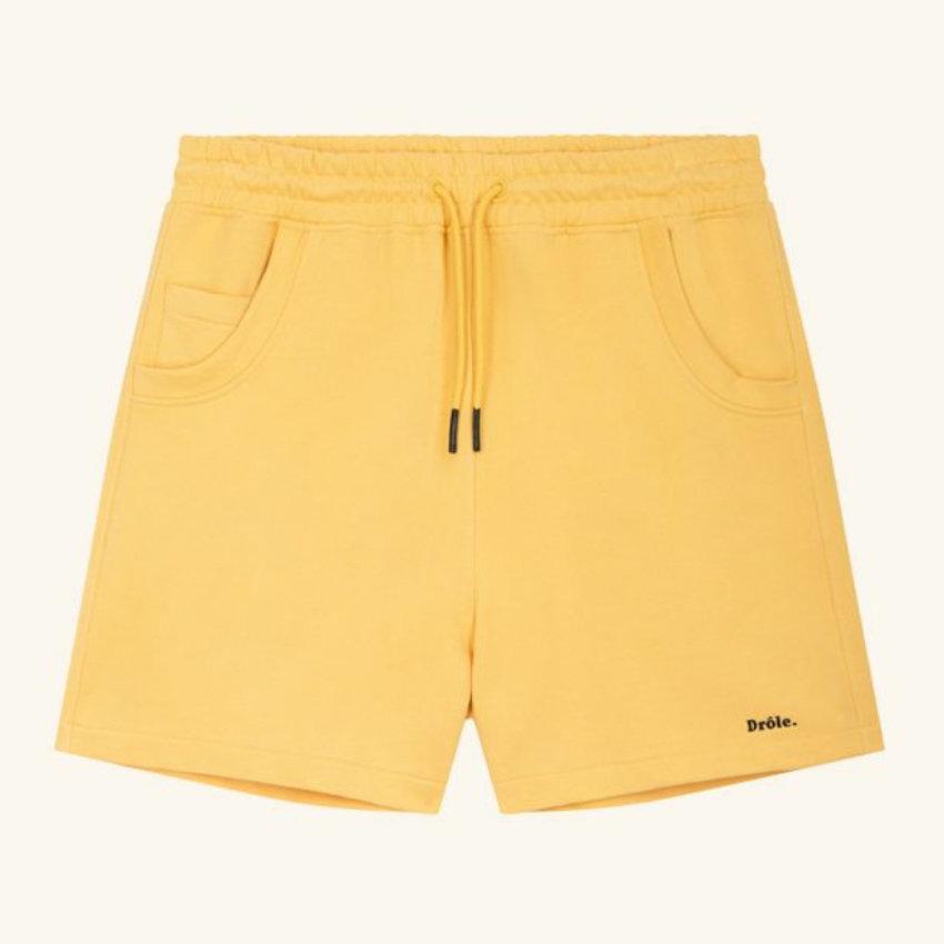 Drole De Monsieur Drole Short Yellow