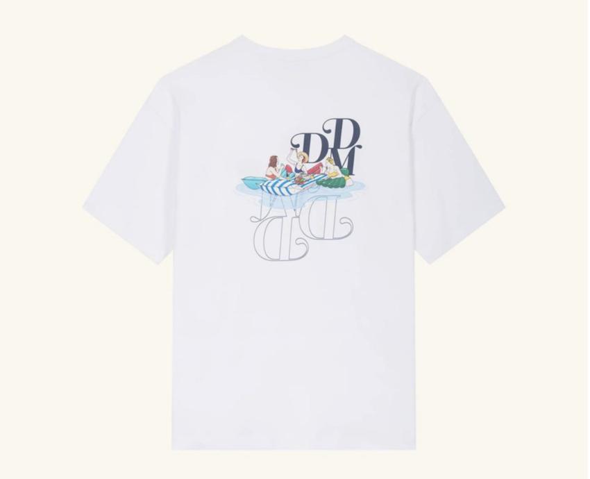 Drole De Monsieur Pique-Nique Graphic T-Shirt White