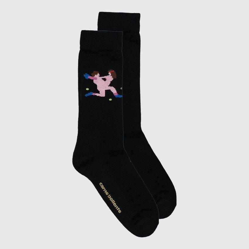 Carne Bollente Andre Agassex Socks Black