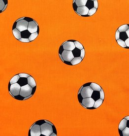 Voetbalstoffen Oranje voetbalstof