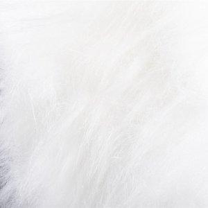 Bont langhaar wit