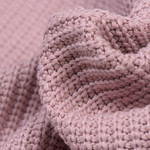 Gebreide stof, Big Knit Cable Poederroze