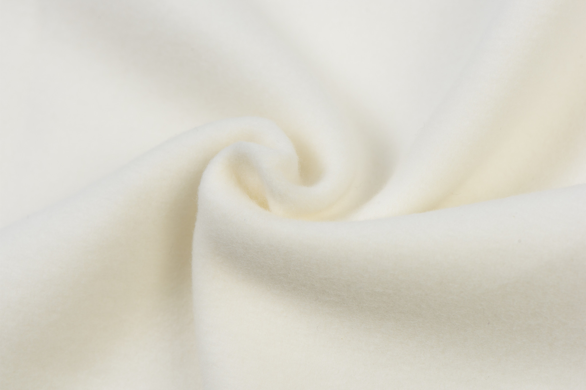 Cotton Double Fleece Ecru