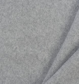 Cotton Double Fleece Light Grey Melange