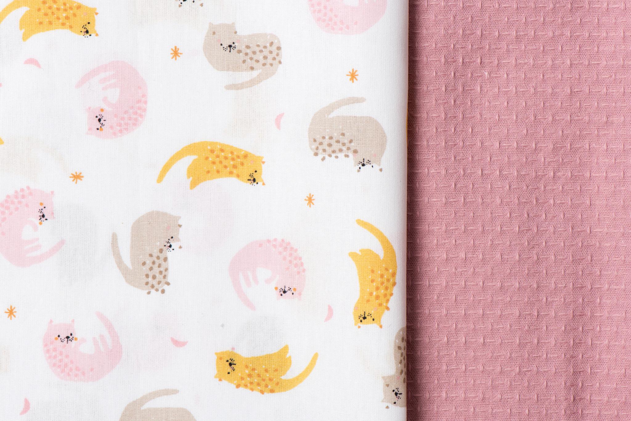 Toff Designs Cotton Jacquard Old Rose