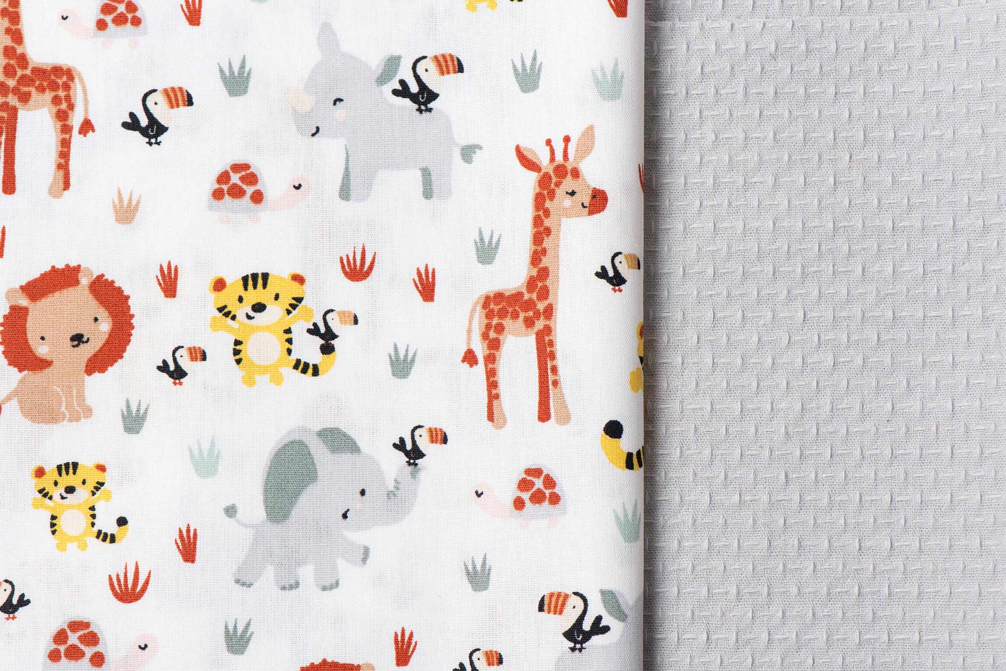 Toff Designs Cotton Jacquard Poedergrijs