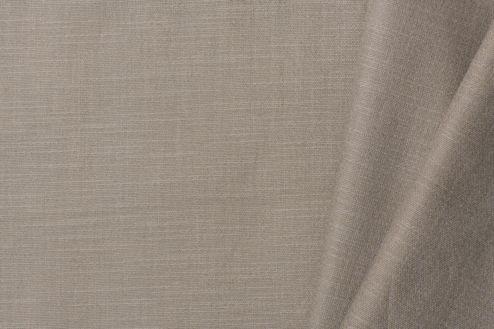 Stretch Uni Linnen Natural Taupe