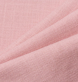 Stretch Uni Linnen Dusty Rose