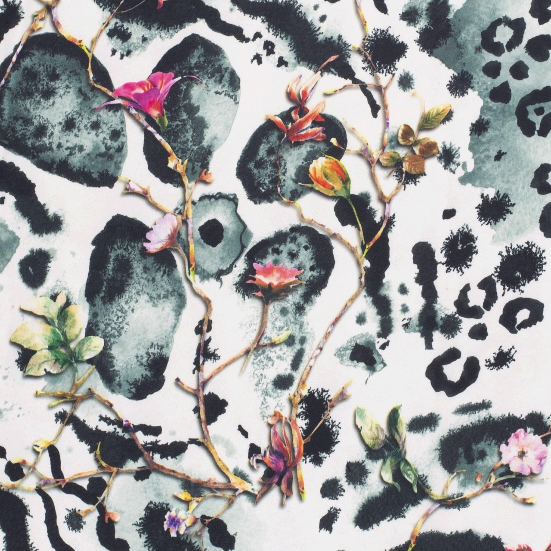 Nooteboom Textiles Crepe Georgette Flowers