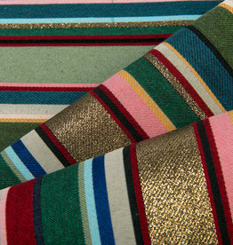 Jacquard Lounge Stripe Gold / Multicolor