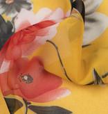 Chiffon Flowers Yellow