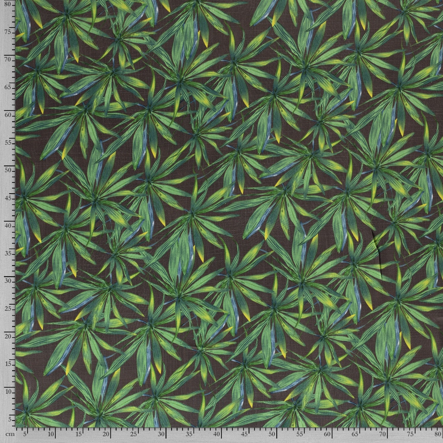 Nooteboom Textiles Viscose Stretch Leaves