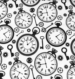 Katoen Poplin Clocks