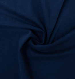 Knitted Denim Stretch Dark Blue