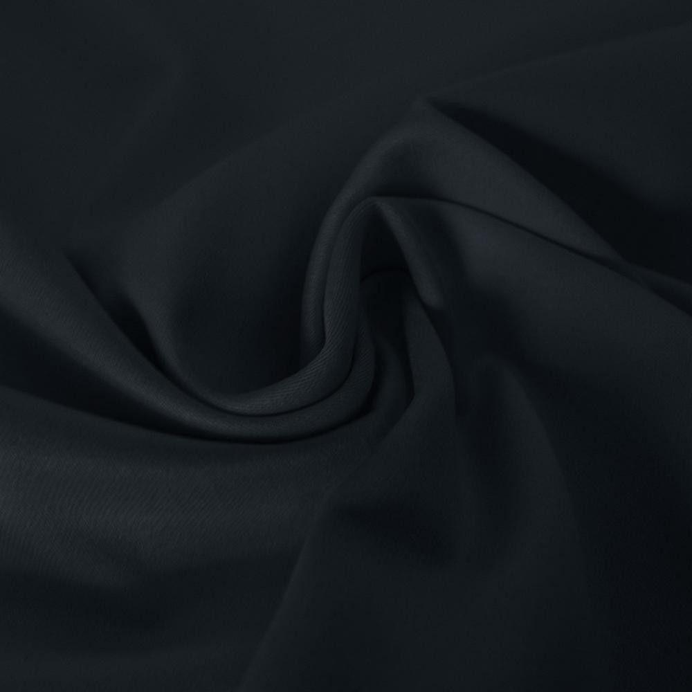 Stretch katoen stof marine