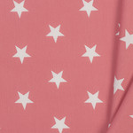 by Poppy designed for you Katoen Poplin Stars Blush
