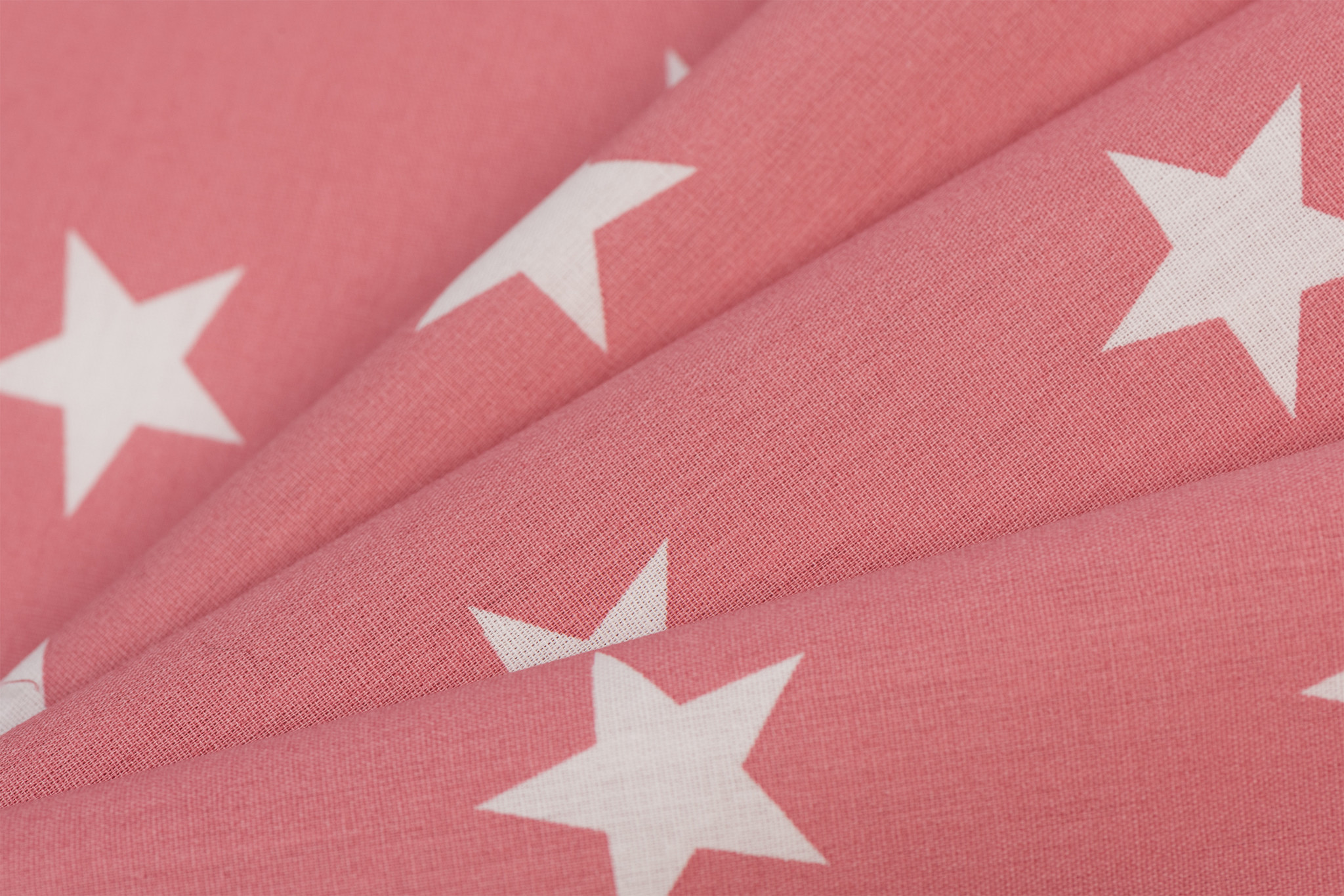 by Poppy designed for you Katoen Poplin Stars Blush
