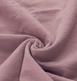 Washed Cotton Uni / Effen Oud Rose