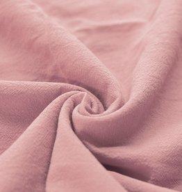 Washed Cotton Uni / Effen Nude Rose
