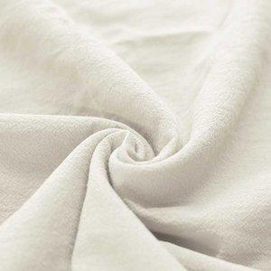 Washed Cotton Uni / Effen Ecru