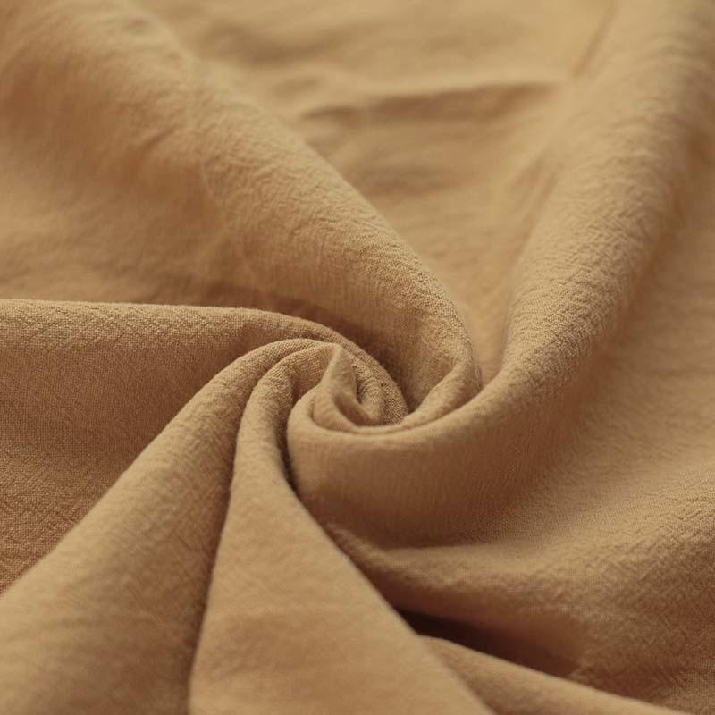 Washed Cotton Uni / Effen Camel