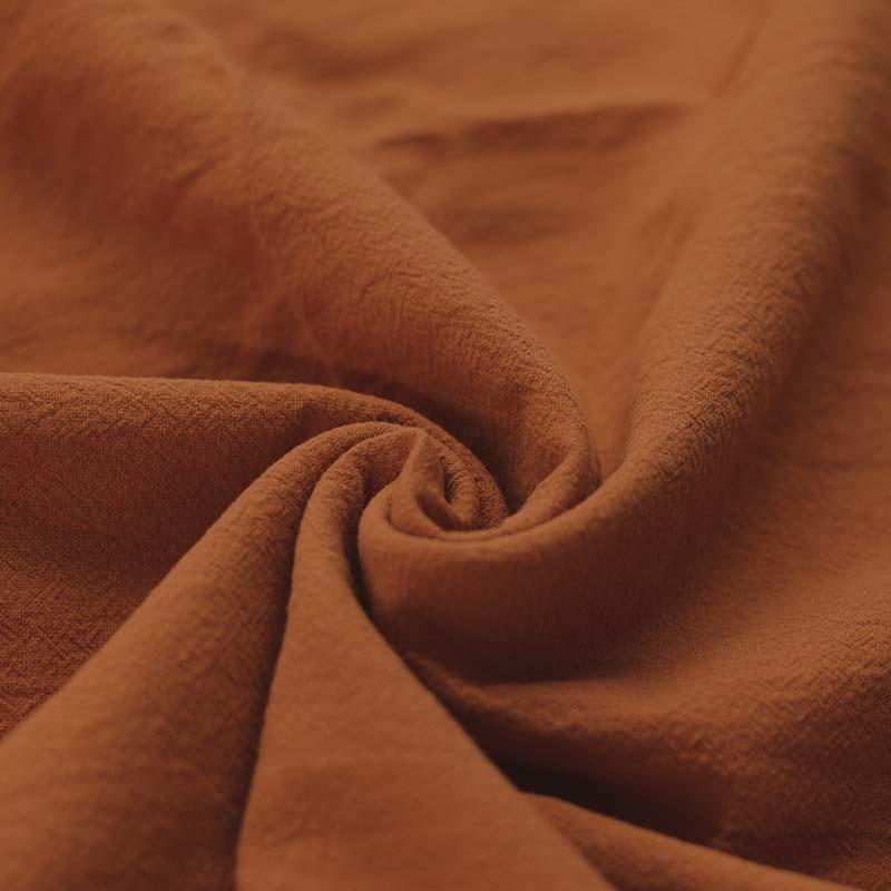 Washed Cotton Uni / Effen Cognac