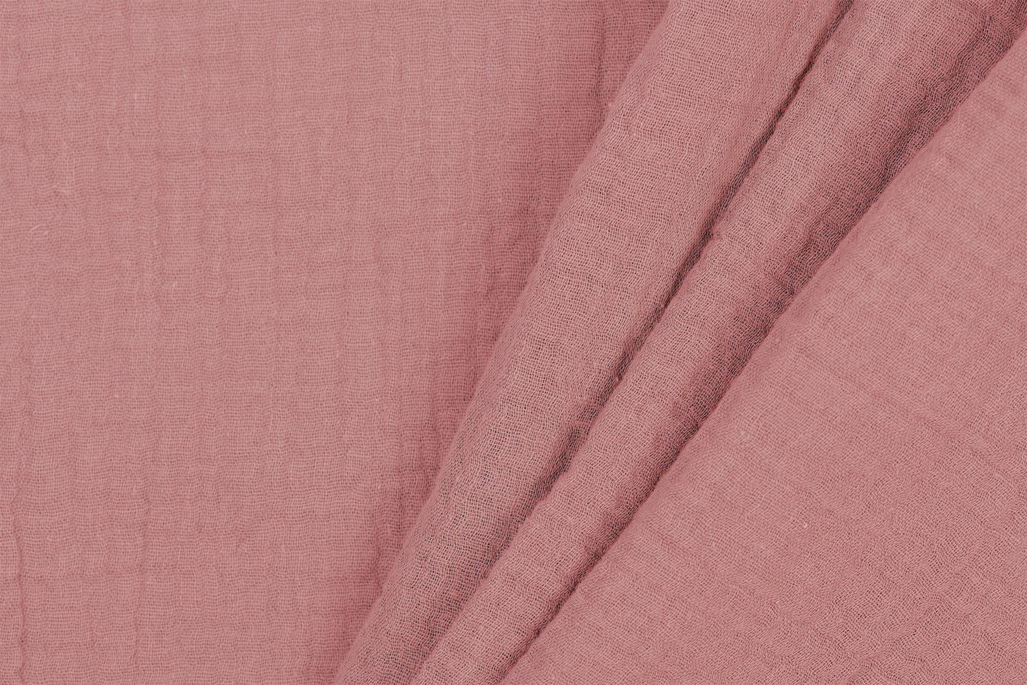 Qjutie Kids Baby Cotton / Mousseline Uni / Effen Rose The