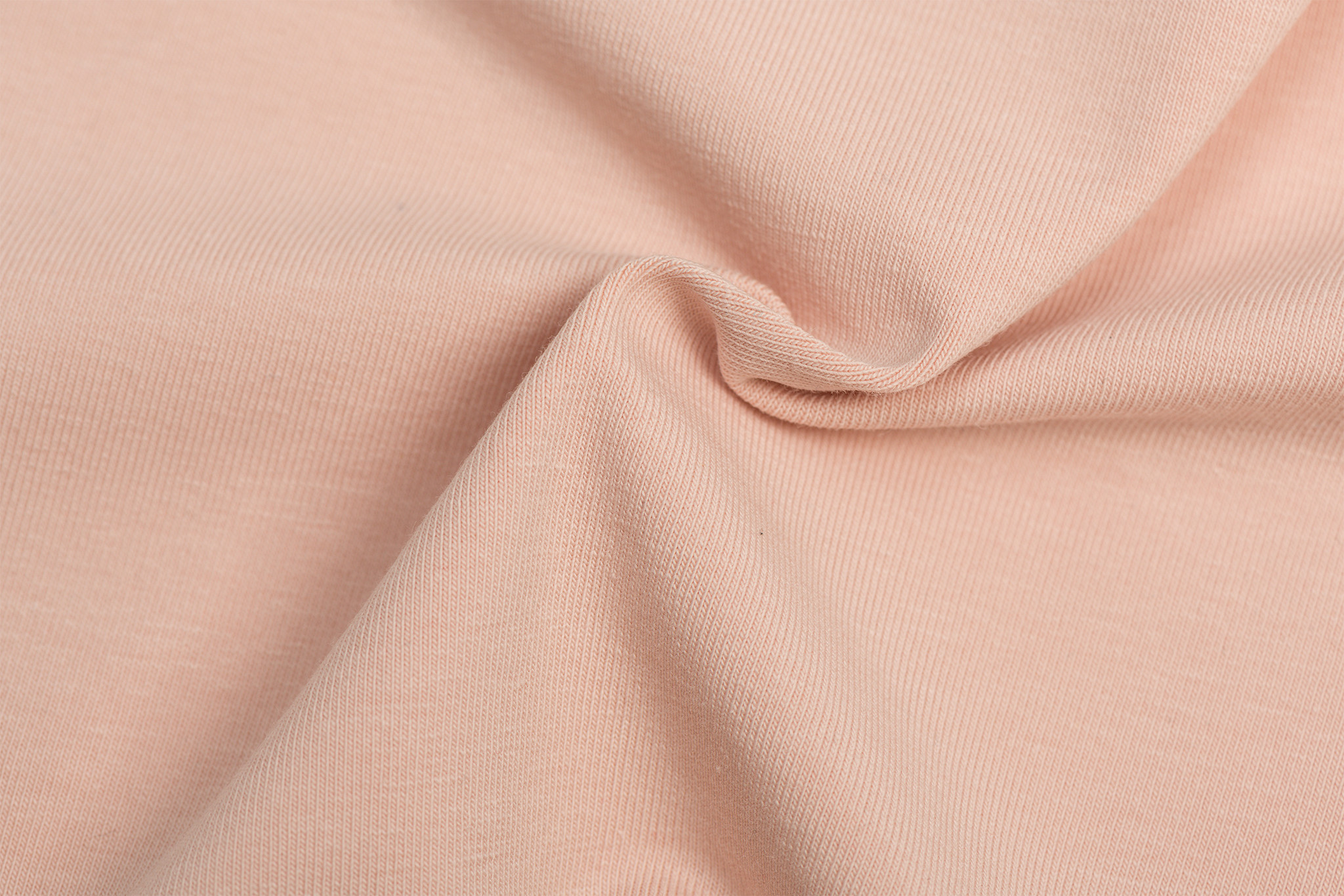 by Poppy designed for you GOTS Jersey Uni / Effen Nude Rose
