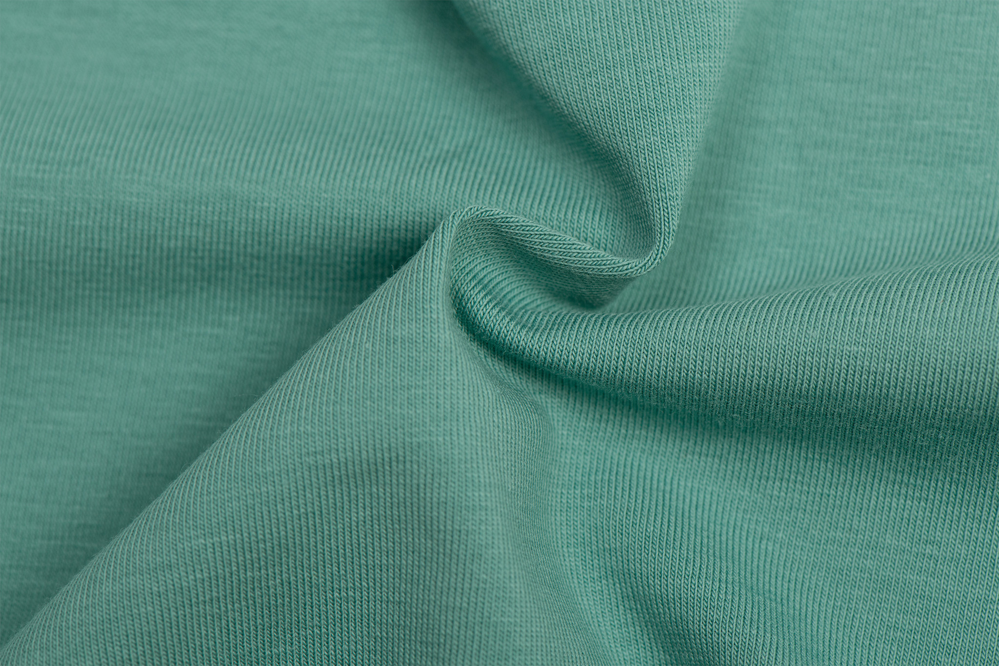 by Poppy designed for you GOTS Jersey Uni / Effen Old Green