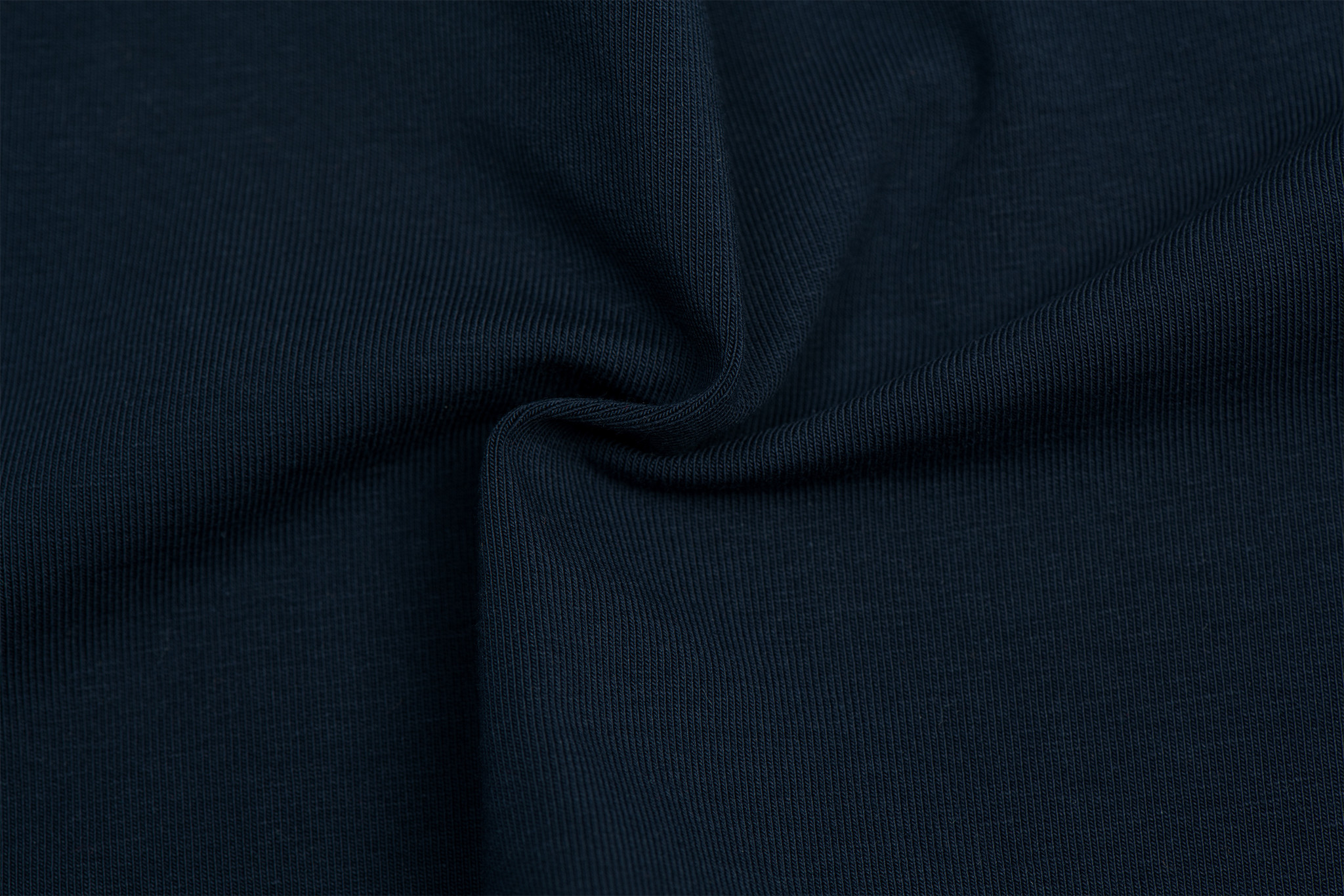 by Poppy designed for you GOTS Jersey Uni / Effen Navy