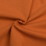by Poppy designed for you GOTS Jersey Uni / Effen Cognac Amber