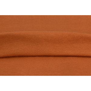 by Poppy designed for you GOTS Boordstof Cognac Amber