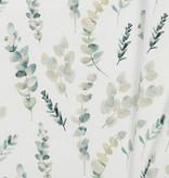 Poplin Katoen Digitale Print -  Eucalyptus Blaadjes