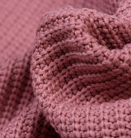 Gebreide stof, Big Knit Cable Oud Rose