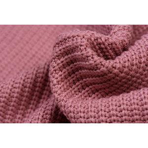 Gebreide stof, Big Knit Cable Oud Rose