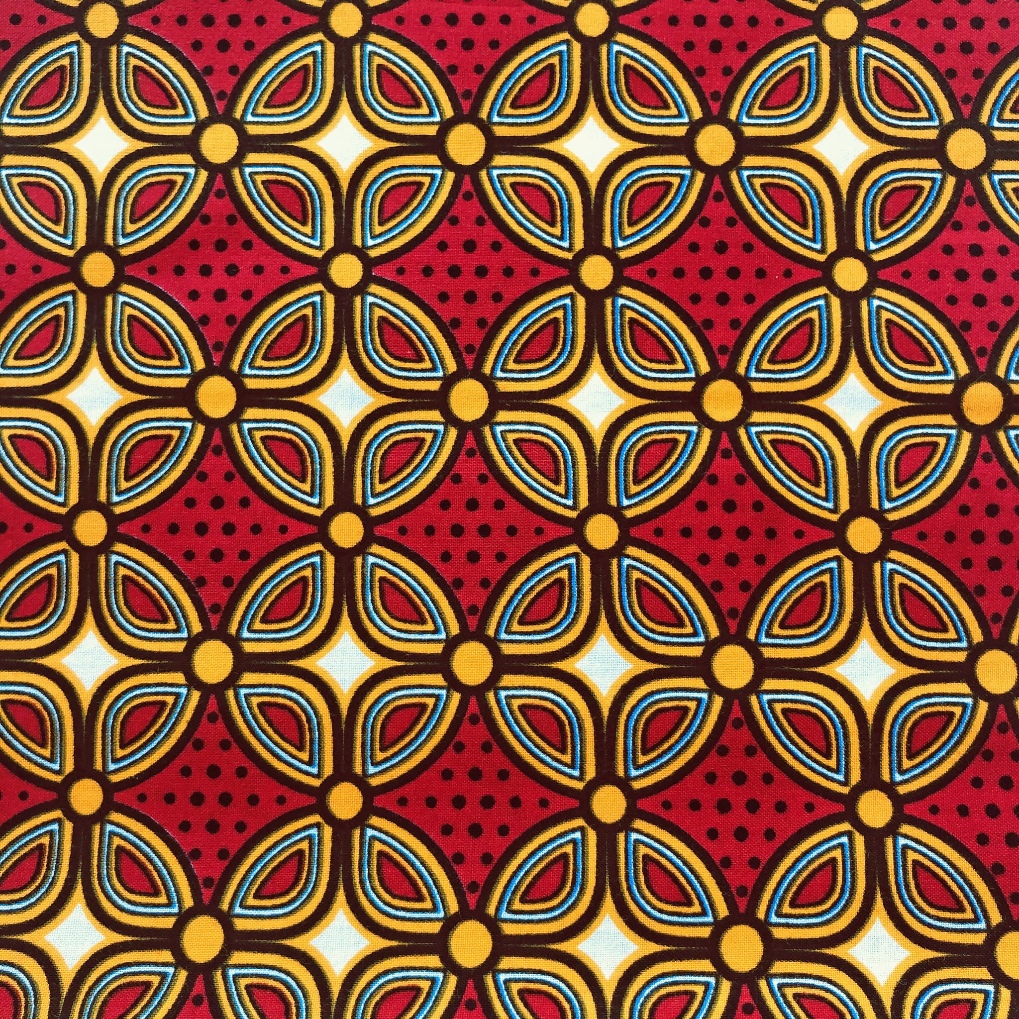 Afrikaanse Doek Java Design 04