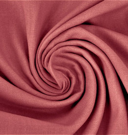 Katoen Poplin Uni / Effen Dusty Old Rose
