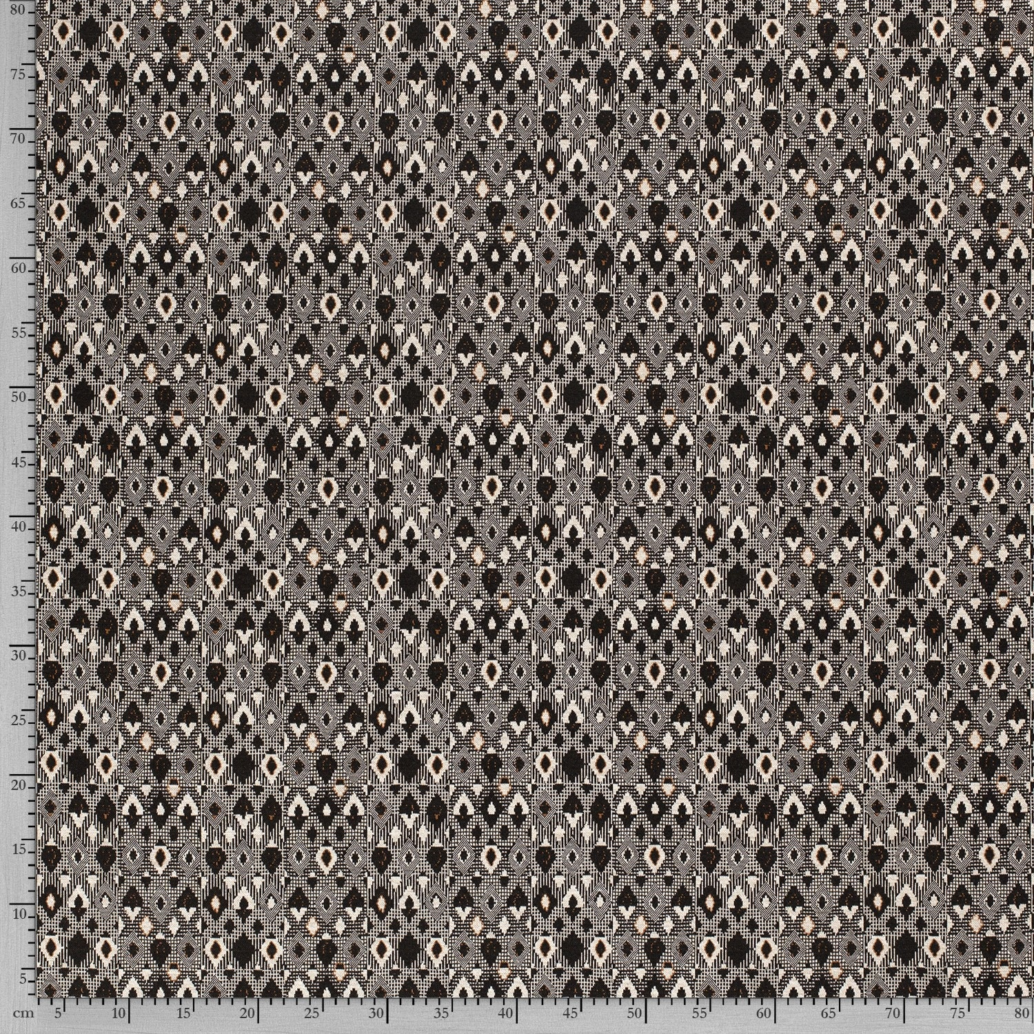 Nooteboom Textiles Knitted Fabric Abstract Oker