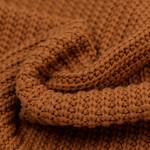 Gebreide stof, Big Knit Cable Cognac