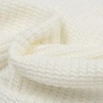 Gebreide stof, Big Knit Cable Ecru