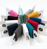 by Poppy designed for you Boordstof / Cuffs Uni / Effen Dark Ochre
