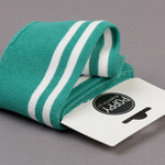 by Poppy designed for you Boordstof / Cuffs Strepen Old Green