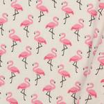 Katoen Flamingo's Ivoor / Rose