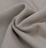 by Poppy designed for you GOTS French Terry Brushed Uni / Effen Grey