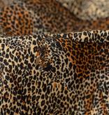Jersey Katoen Digitale Print - Leopard Camouflage